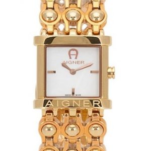 This Gold Aigner Arezzo watch - The Posh Watch Shop