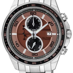 Citizen Crono Supertitanio 0345 eco drive watch - The Posh Watch Shop
