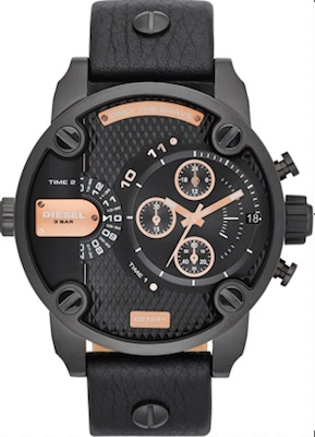 Diesel Little Daddy watch DZ7291 - The Posh Watch Shop