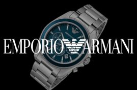 Emporio Armani Tag - the posh watch shop