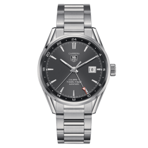 Tag Heuer Calibre-7 Twin-Time WAR2012-BA0723 - The Posh Watch Shop