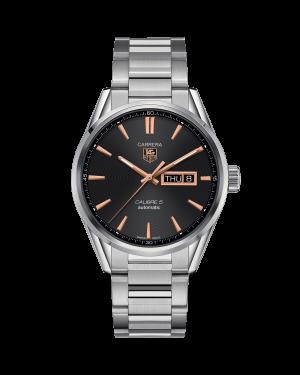 Tag Heuer Carrera Calibre-5 WAR201c-BA0723 watch - The Posh Watch Shop