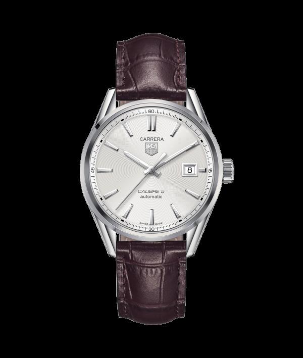 Tag Heuer Carrera Calibre-5 war211b-fc6181 - The Posh Watch Shop