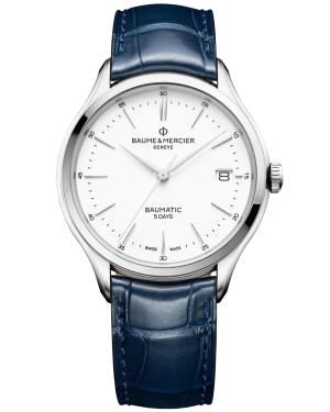 Baume & Mercier Clifton watch M0A10398 - The Posh Watch Shop