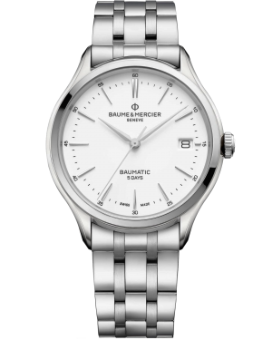 Baume & Mercier Clifton watch M0A10400 - The Posh Watch Shop