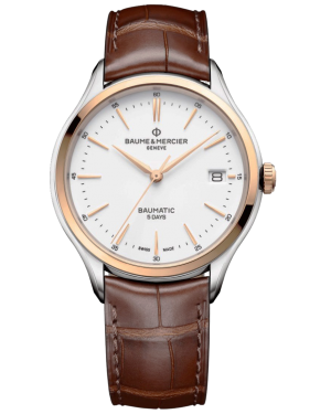 Baume & Mercier Clifton watch M0A10401 - The Posh Watch Shop