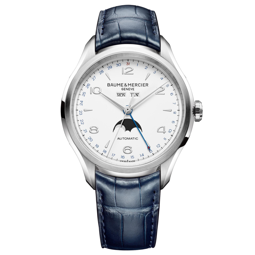 Baume & Mercier Clifton watch M0A10450 - The Posh Watch Shop