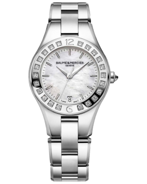 Baume & Mercier Linea watch MOA10072 - The Posh Watch Shop