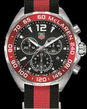 Tag-Heuer Formula-1 Special-Edition Mclaren CAZ1112-FC8188 - The Posh Watch Shop