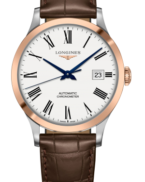 Longines Record Collection L2.821.5.11.2 - The Posh Watch Shop